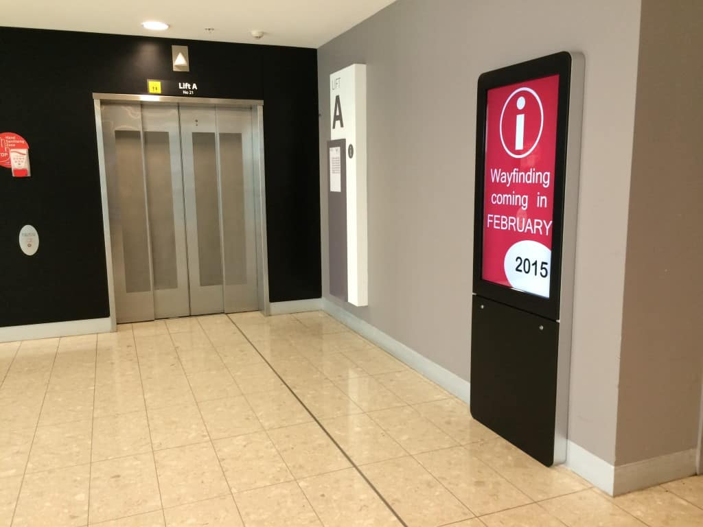 Digital Wayfinding Solutions - Liverpool Hospital Entrance