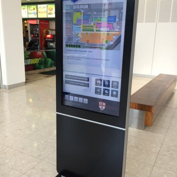 Digital Wayfinding Solutions - Liverpool Hospital Lifts