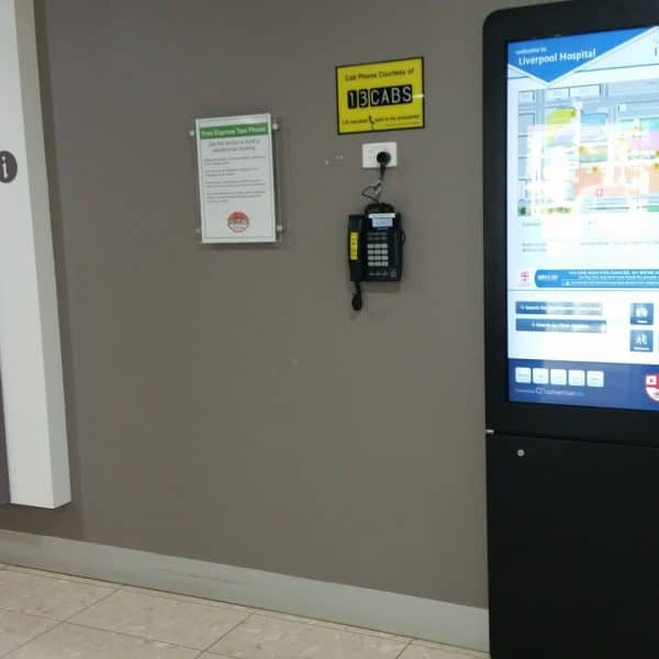 Digital Wayfinding Solutions - Kiosk with Sponsorship and Banner module