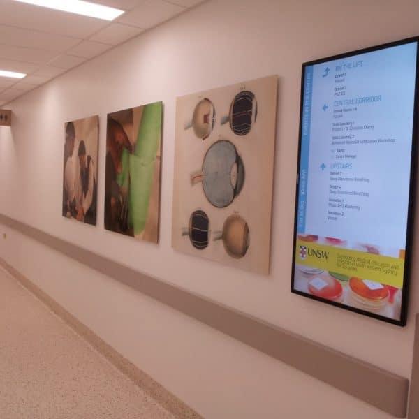 Digital Wayfinding Solution Corridor