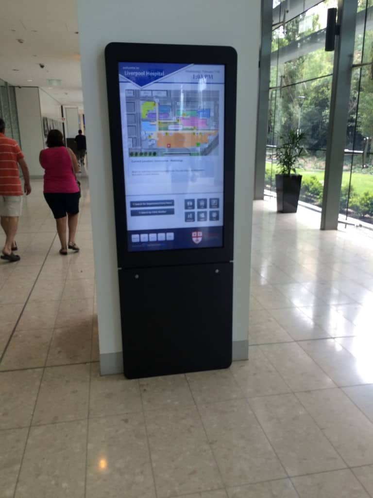 Digital Wayfinding Solutions - Corridors