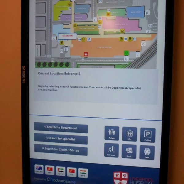 Digital Wayfinding Solutions - Touchscreens