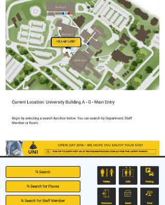 Digital Wayfinding Solutions - Digital Wayfinding Software for University School Education